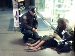NYPD Giving Boots